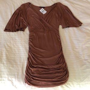 Soprano Ruched Dress NWT